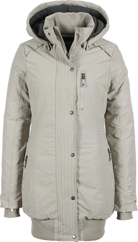 bench razzer jacket bench razzer ii b w jacket beige