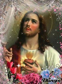imagenes lindas de jesus con movimiento fotos animadas sagrado corazon de jesus para compartir
