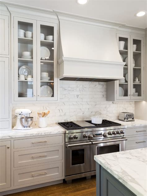 12 Beautiful Gray Kitchen Cabinets   Interiors By Color