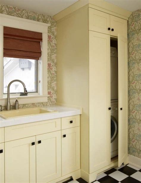 hidden washer and dryer cabinets pin by mindy huffman on washer dryer thoughts