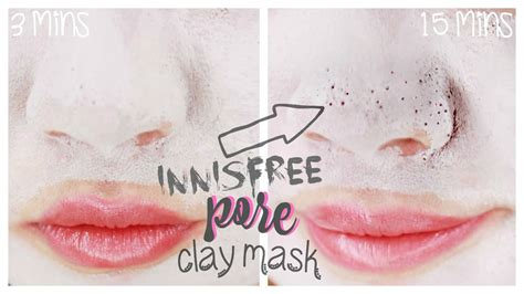 Masker Innisfree Jeju Volcanic Pore Clay Mask innisfree jeju volcanic pore clay mask review pores