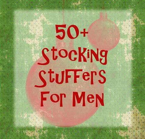 stocking stuff stocking stuffers men christmas pinterest