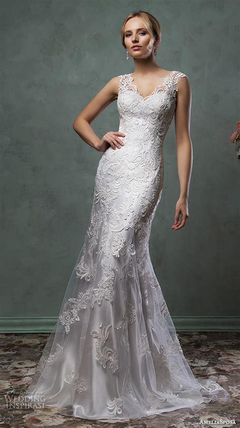 Silver Wedding Dresses by Amelia Sposa 2016 Wedding Dresses Wedding Inspirasi