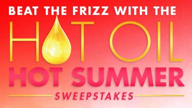 Vo5 Sweepstakes - the v05 hot oil hot summer sweepstakes win 2 500 more sweepstakes in seattle