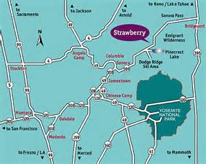 strawberry california map strawberry california 95375