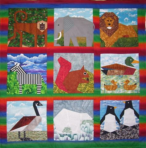 Animal Patchwork Quilt Patterns - find pictures of animals for quilt pictures of nnature