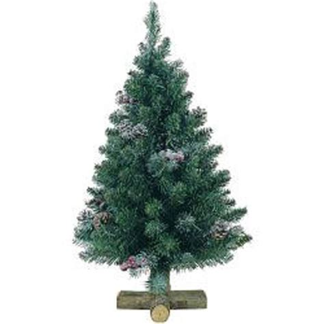 45cm kaemingk sherwood frosted pine artificial decorated