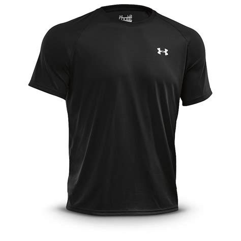 T Hisrt Armour 2 armour s tech sleeve t shirt 281905 t shirts at sportsman s guide