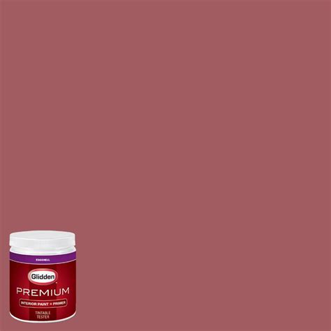 glidden premium 8 oz hdgr50 painted desert eggshell interior paint with primer tester