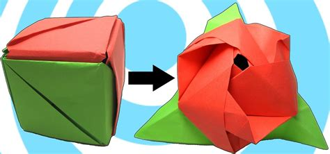 How To Make Cool Origami Toys - how to make an origami magic cube 171 origami