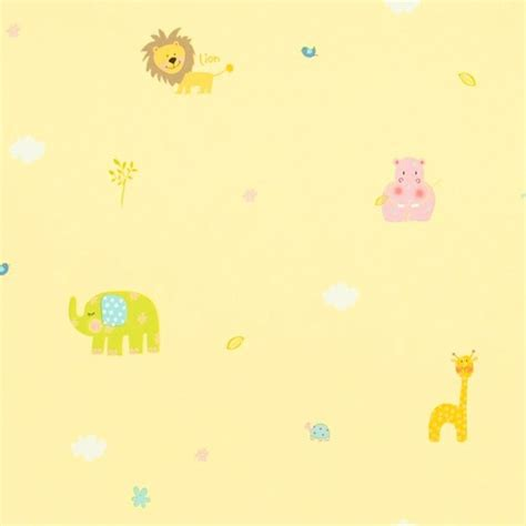 bordure kinderzimmer giraffe bord 252 re safari in gelb bei oli niki kaufen