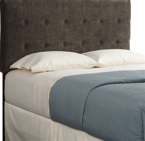 Brown Upholstered Headboard by Humble Haute Sussex Velvet Brown Tufted