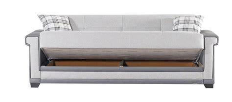 Light Sofa Bed Cornella Light Gray Sofa Bed By Mobista