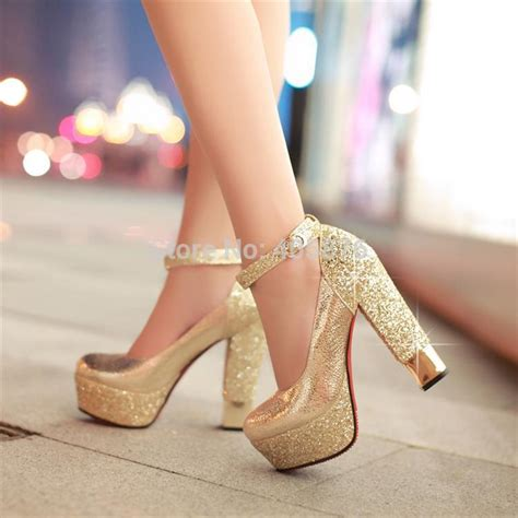 aliexpress buy fashion high heeled shoes thick heel