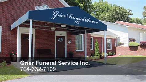 grier funeral service inc located in nc