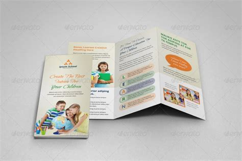 easy brochure template 20 education brochure template word psd and eps format