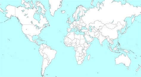 outline map  colouring