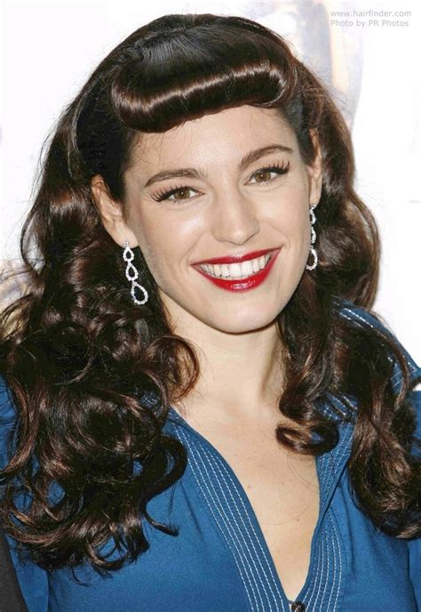 bettie page hairstyle brook with a retro 1950s look channeling bettie page