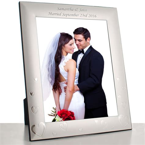 Personalised Vase Love Heart Photo Frame Engraved By Keep It Personal