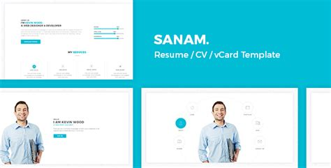 demdous mobile vcard template by thememarket themeforest sanam resume cv vcard template by regaltheme