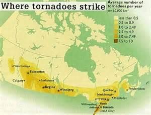 tornado map canada all ontario confirmed probable tornadoes ontario