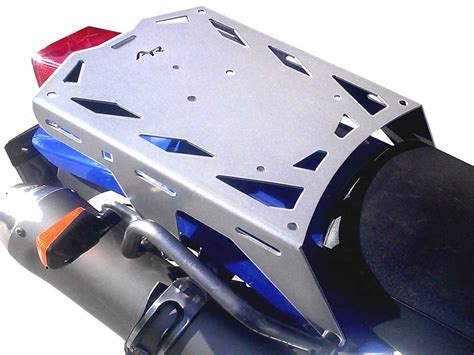 dr650 rear luggage rack by alumiracks in silver dr 650