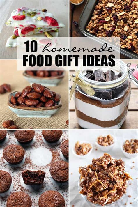 homemade food gift ideas for christmas www imgkid com