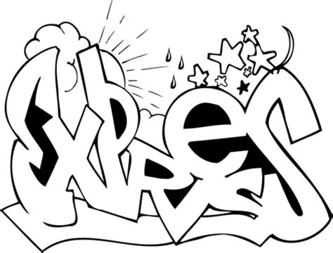 graffiti creator coloring pages expres graffiti coloring page supercoloring com