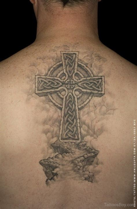 celtic cross back tattoos celtic tattoos designs pictures page 3