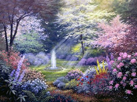 magical flower garden garden of promise by charles h white charles h
