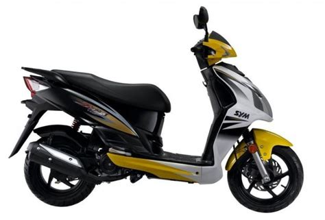 Jet Tiger 125 sym jet4 125 seen from the right side motorcycle thailand