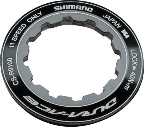 dura ace 11 speed cassette shimano dura ace r9100 11 speed cassette lockring 2