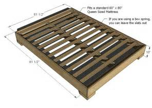 Simple Bed Frame Plans Size Bed Frame Plans Pdf Woodworking