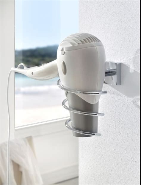 bathroom hair dryer holder 10 best images about bathroom storage on pinterest wall