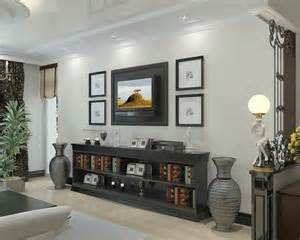 Decorating Ideas For Living Room With Tv Living Room Tv Console Design Pictures Remodel Decor