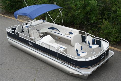 new pontoon boats new 24 fish and fun grand island pontoon boat boat for