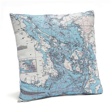 pillow san francisco san francisco bay pillow map from carved lake