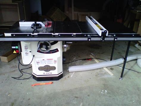 shop fox table saw by waldo lumberjocks