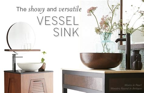 The Pros and Cons of Vessel Sinks   Native Trails