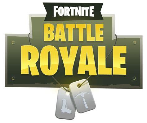 fortnite battle royale logo png image purepng