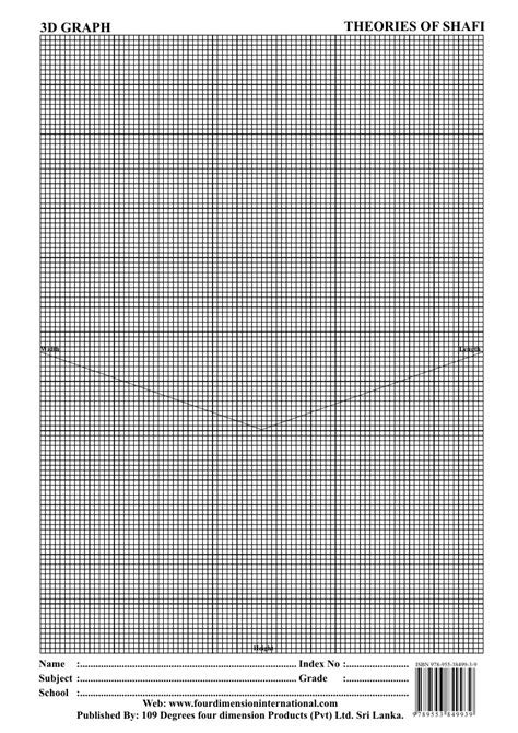 3 Dimension Graph - 109 DEGREES FOUR DIMENSION PRODUCTS