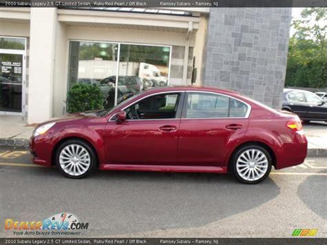 subaru legacy 2 5 gt 2010 2010 subaru legacy 2 5 gt limited sedan ruby pearl