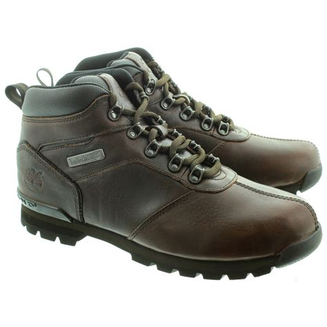 and boots timberland leather splitrock2 hiker lace ankle boots in