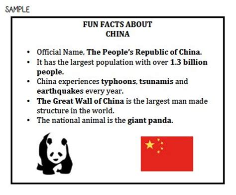 facts about china for kids room kid