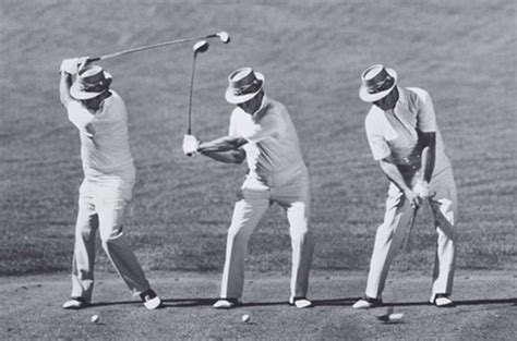 Golf Tips Squat For More Power Swing Like Sam Snead