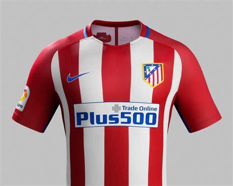 Atletico Madrid Home 1518 tutte le maglie della chions league 2016 17