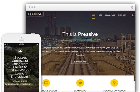 thrive themes exles pressive by thrive themes