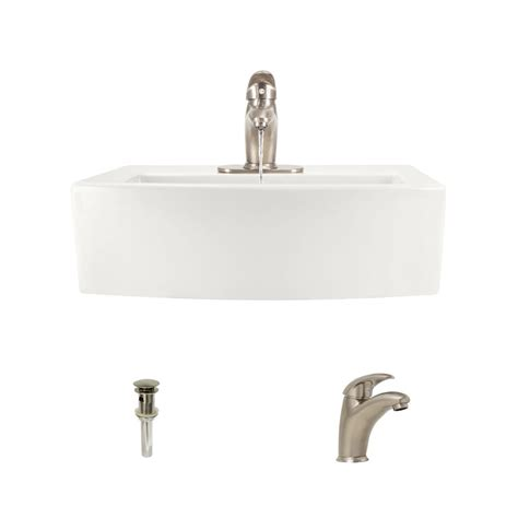 mr direct sinks and faucets mr direct porcelain vessel sink in bisque with 722 faucet
