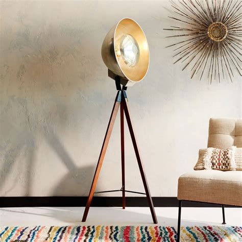 quirky  attractive tripod floor lamp designs