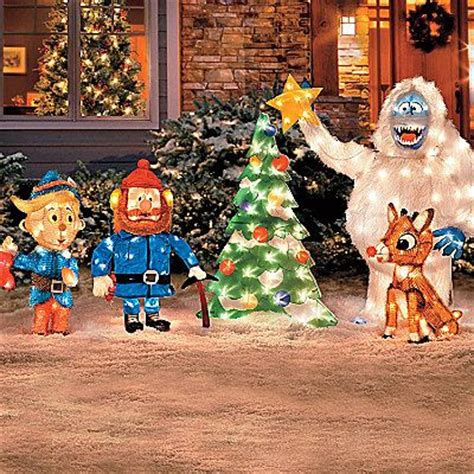 rudolph bumble outdoor christmas decor christmas is